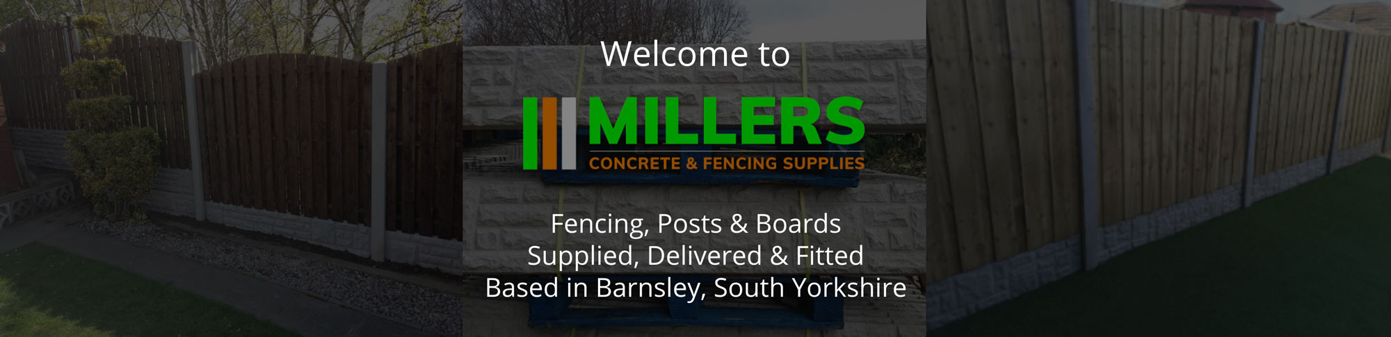 Millers Concrete & Fencing Supplies
